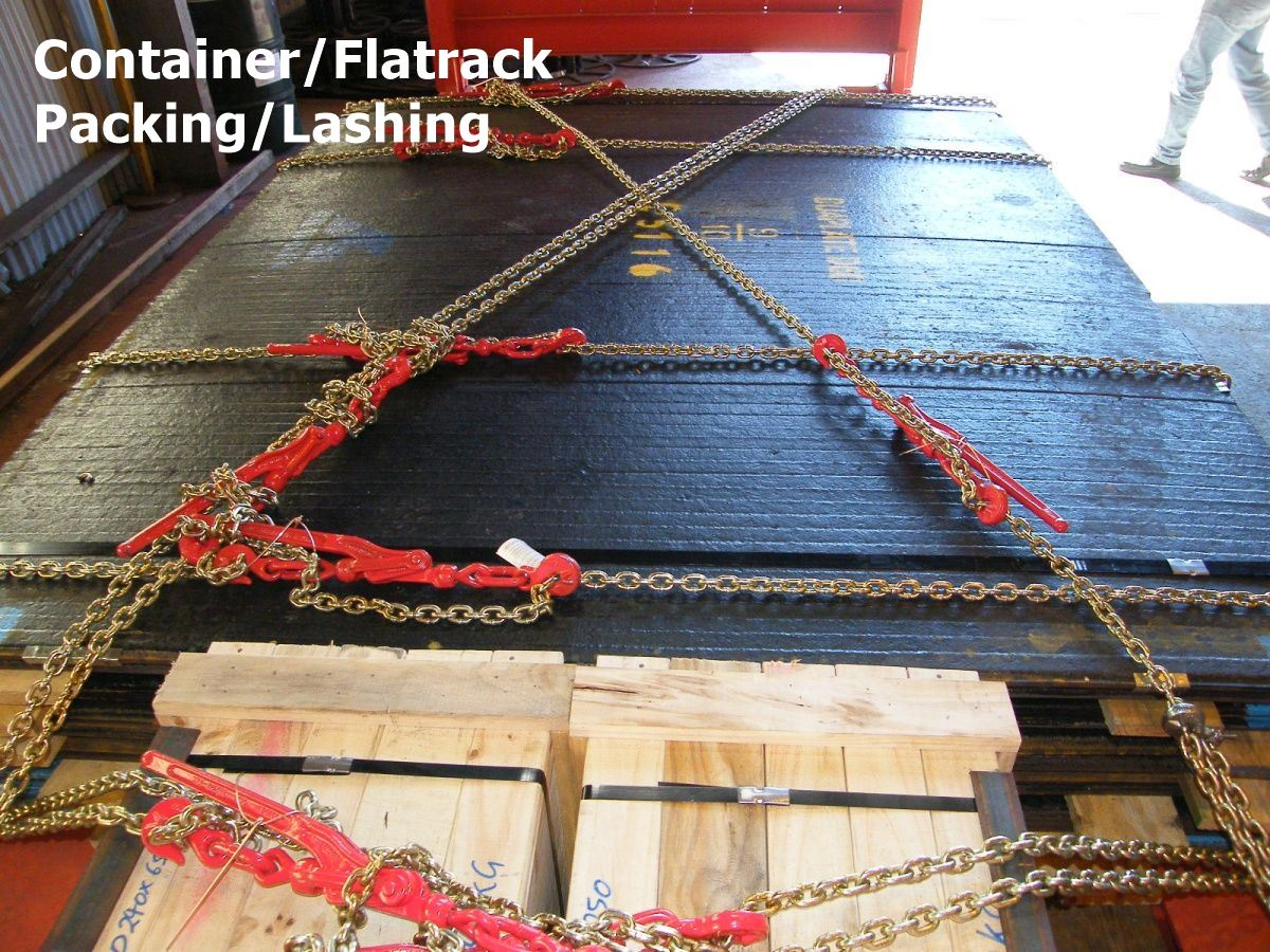 Container/Flatrack Packing/Lashing